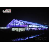 China Transparent 50 by 50 Meters Hugh Aluminum Marquee with Tables & Chairs for Events wholesale