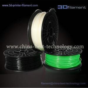 China 3D Printer Filament PLA 1.75mm Black-Green-White wholesale