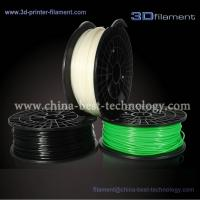 Buy cheap 3D Printer Filament PLA 1.75mm Black-Green-White from wholesalers