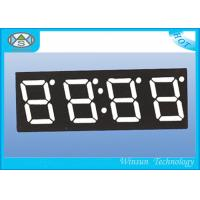 High Brightness 4 Digit Seven Segment Display / 0.4 Inch Electronic Number Display Red Color