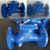 Quality Gearbox Brass Ball Check Valve DIN Standard , Flange Type Check Valve For Sewage for sale
