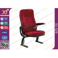 China PP Outerback PP Shell Chairs For Church Auditorium / Floor Mounted Chairs wholesale