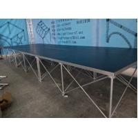 China 18mm Red / Black Folding Movable Stage Platform with Anti-slip Plywood wholesale