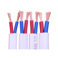 China RVVB 2 Core 3 Core Stranded Copper Wire , PVC Insulated Indoor Electrical Flat Cable wholesale