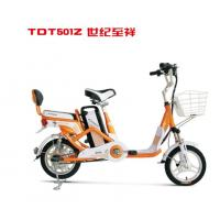China 14 Inch Commuting Long Distance Ladies Electric Bicycle with Pedal Assistant , 250W Motor wholesale