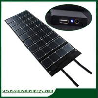 China 180w solar panel kits / foldable solar panel charger for big battery and vedio & camera with dual voltage controller on sale
