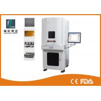 China High Efficiency UV Laser Marking Machine Smaller Focused Spot For Date Coding wholesale
