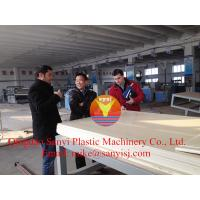 China 2015 New Design PVC Foam Board Production Line/New PVC Foam Board for Construction on sale
