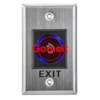 China Infrared Long Door Release Switch / Exit Button Recessed Mounted wholesale