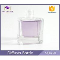 Square Crystal 30ml Reed Diffuser Bottles , Household Aromatherapy Air Freshener