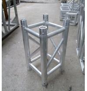 China 0.5m Spigot Aluminum Spigot Stage Truss 50mm Diameter Tube wholesale