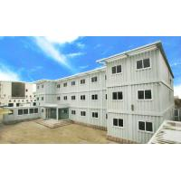China 3 Floor Steel Flat Pack Container House Of Second Hand 20gp 33 Cbm wholesale