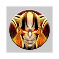 China Custom 3d Pins 58mm Lenticular Anime Button 3d Badge wholesale