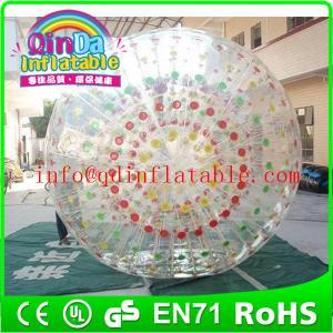 QinDa Inflatable water rolling ball aqua zorb ball hamster playing ball