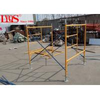 China Construction Q235 Steel Ladder Frame Scaffolding Lightweight 5'×6'4 Size wholesale