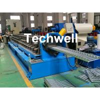 China 90mm Shaft Diameter Cable Tray Roll Forming Machine With 3.0kw Servo Feeding Device wholesale
