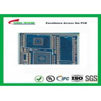 China PCB Fabrication And Assembly Printed Circuit Board Assemblies 6 Layer Blue Solder Mask wholesale