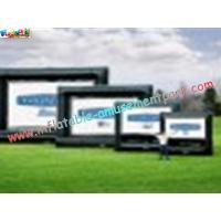 China OEM Outside Wide Inflatable Movie Screen projection Display, Outdoor Large Screen wholesale