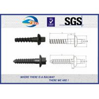Wholesale railway sleeper spike ground screw from china suppliers