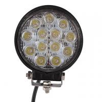 China 2 PCS 39W 2500lm Round Flood Epistar Work Light  Fog Driving Lamp Truck Tractor SUV 9 LED wholesale