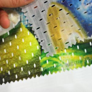 Quality Heavy Duty Custom Vinyl Banner Printing Dye Sublimation Fabric Series for sale