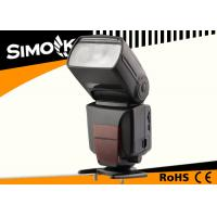 China High Speed Touch Control Function Camera Speedlight , Photographic Accessories wholesale