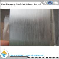 Quality 6063 T6 Temper Aluminium Alloy Sheet 30mm X 1220mm X 2440mm Aluminum Brush Sheet for sale