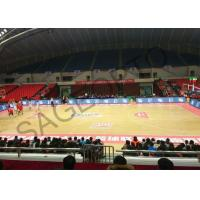 China Basketball Stadium Perimeter Led Display Screen 6mm High Definition Aluminum Cabinet wholesale