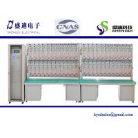 China Single Phase Meter Test Bench,48 calibrated energy meter, 0.001Amps~120Amps,30~300Volts wholesale