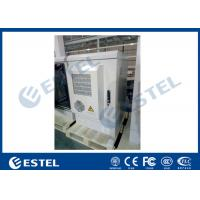 China Temperature Control Steel Outdoor Telecom Cabinet 19 Inch  For Base Station wholesale