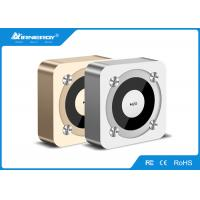 China Mini Home Portable Outdoor Bluetooth Speakers With Microphone , 77*77*31mm Size wholesale