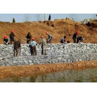 Quality Heavy Galvanized Gabion Box Low Carbon Steel Wire For Hydraulic Engineering for sale