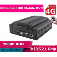 China 8CH FULL HD 1080P Hybrid DVR Car Mobile DVR 4G Real Time Recording on sale