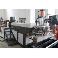 China Horizontal Type Plastic Nylon Film Extruder Machine 0.015 - 0.07mm Thickness wholesale
