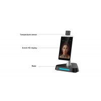 China Intelligent Non Contact Body Temperature Measurement Kiosks With Facial Recognition wholesale