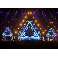 China Light Weight Hire LED Screen Full Color led stage screen rental 6.25mm Pixel pitch wholesale