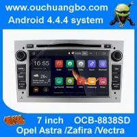 China Ouchuangbo android 4.4 Opel Astra  Zafira sliver colour capacitive canbus 3G WIFI free map wholesale