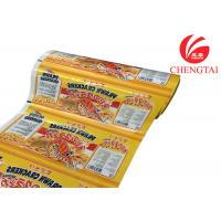 China Laminated Plastic Rollstock Film For Snack Food Packaging In Supermarket on sale