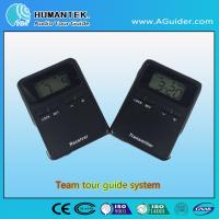 Quality Hot Sale Design Portable Wireless Transmitter And Receiver  Tour Audio Guide System For Museum And Travelling for sale