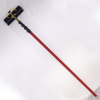 Quality 60ft 3k High Modulus Carbon Fiber Telescopic Pole For Swimming Pool for sale