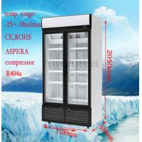 Customize Commercial Display Freezer For Restaurant / Supermarket
