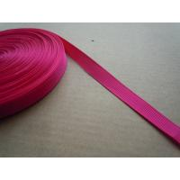 China Polyester nylon Custom Color Shiny Elastic Binding Tape , Elastic bra straps wholesale