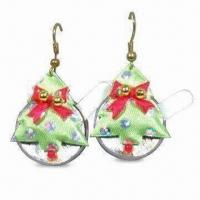 China Flashing Earrings in Christmas Design, Various Attractive Models are Available wholesale