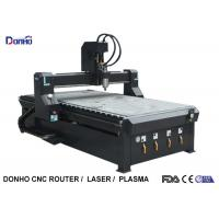 China Black 4 Zones Vacuum Table CNC 3D Router Machine , Wood Carving Router Machine wholesale