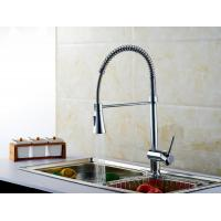 Quality Water Saving Singe Handle Pull out Spout Water Kitchen Sink Faucets Lifting Type for sale