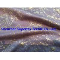 China High Fastness Gold Foil Print Cotton Jersey Resist Multiple Wash 183GSM wholesale