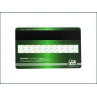 China High Frequency Membership PVC Card , Custom Mag Stripe Cards Matte Finished wholesale