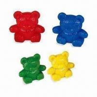 China 12g Lovely Counters in Bear Shape, Comes in Red, Blue, Green and Yellow wholesale