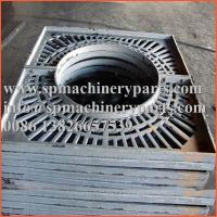 China Custom designs landscaping durable standards high grade quality  gray cast iron tree grates and frames wholesale