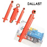 China 16-35 MPa Single Acting Telescopic Hydraulic Cylinders for Garbage Truck Station on sale